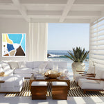 Load image into Gallery viewer, A Steve Adam Color Labyrinth in Coastal Living Room