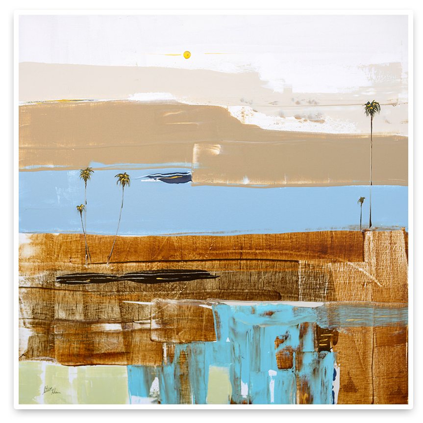 Coastal Modern Abstract - Steve Adam Original Painting