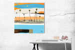 Load image into Gallery viewer, Modern Contemporary Coastal Art - Original by Steve Adam
