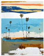 Load image into Gallery viewer, Charismatic Coastal Abstract Painting