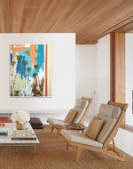 Load image into Gallery viewer, Contemporary Living Room and Art by Steve Adam