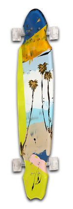 Load image into Gallery viewer, Summer Breeze Skateboard