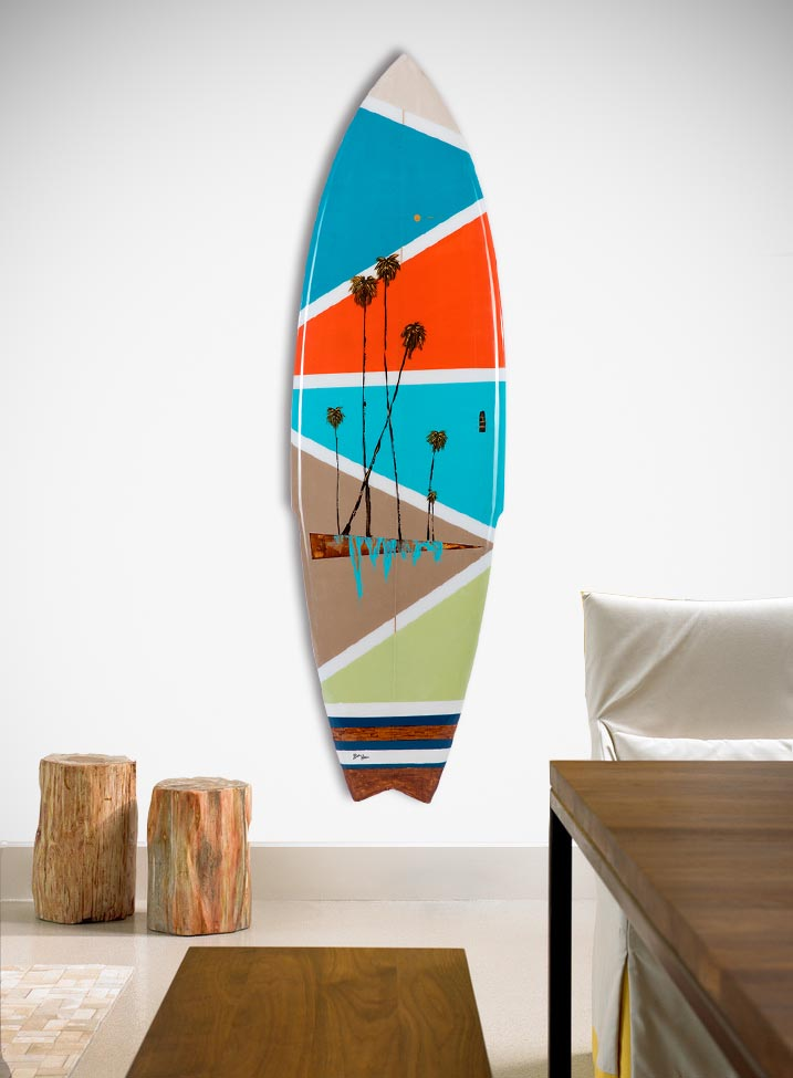 Retro Sands Surfboard