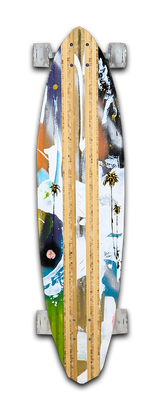 Load image into Gallery viewer, Cruisin Coast Highway Skateboard