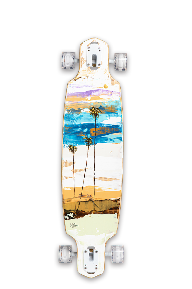 "Cruiser Original Wall Art 36"" x 9"""