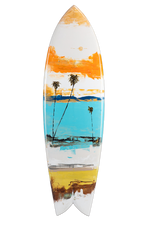 Load image into Gallery viewer, Palm Seascape Series - Fish