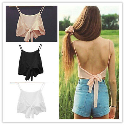 2015 Fashion Sexy Women Sleeveless Camisole Shirt Summer Casual Blouse Crop Tops Bra