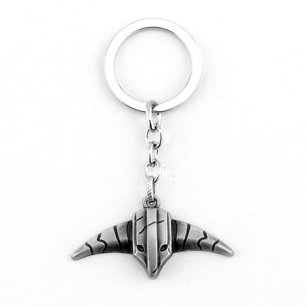Game Series Dota 2 Keychain Butcher Pudge Key Chain Immortal Dragon Talon Hook Alloy Dota2 Keyring