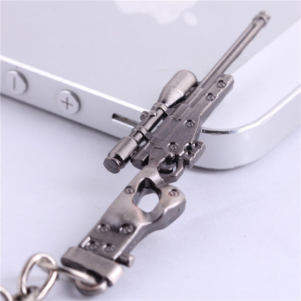 Csgo AK47 AWP Gun KeyChains for Male Metal Friendship Keyring Key Holder Men Key Chain Chaveiros Porte Clef Gift Boy Souvenir