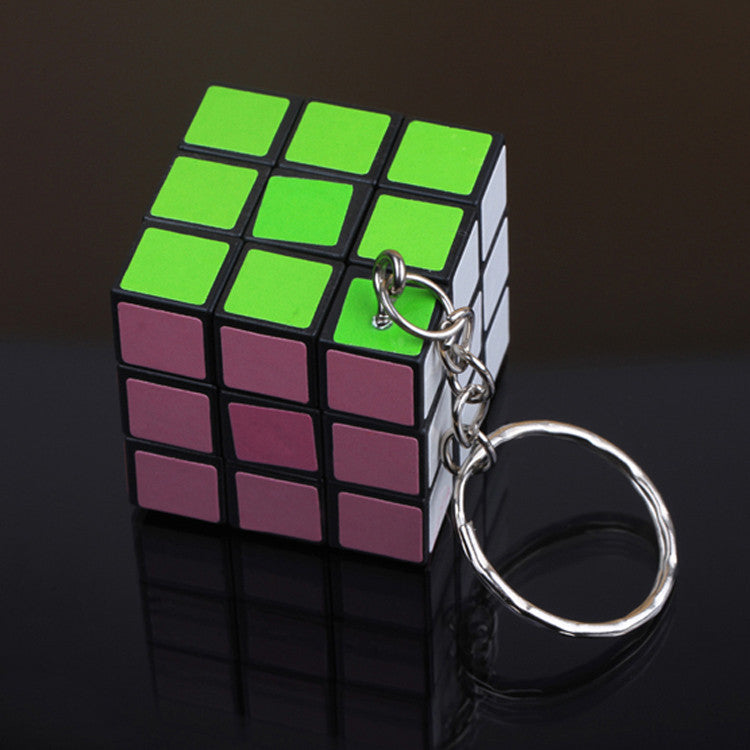 New Arrival Mini Toy Cube Magic Game Puzzle Key Chain Carrying Drop Shipping