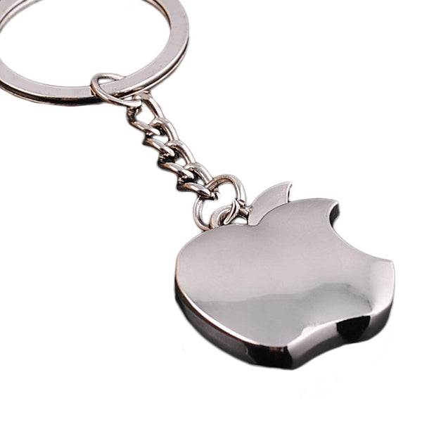 Fashion Trinkets Keychain Titanium Plated Metal Key Chain Apple Key Chains The Best Gift Choice