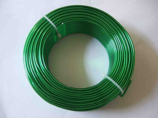 5 Meters / Roll  2mm Round  Aluminium Carft Floristry Wire For Jewellery Beads Making Findings