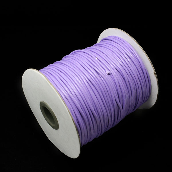 Lowest Price! 5meters 2MM Waxed Leather Thread Cord String Strap Necklace Rope for Necklace & Bracelet (PS-FXT009)