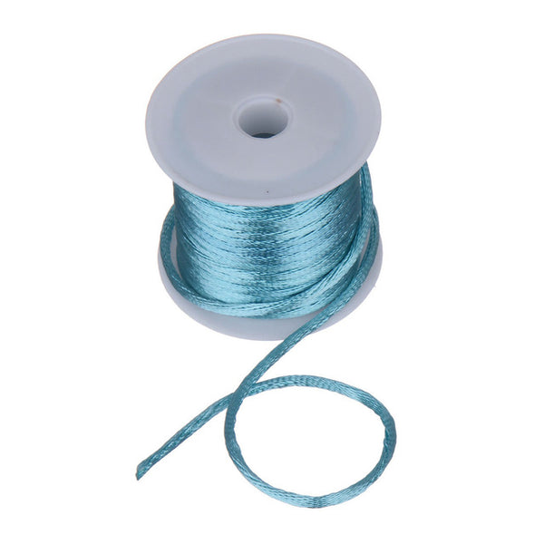 1 Roll 4M(157 inch) Length & 2mm Diamter Chinese Knot Macrame String Wire Cord Thread for DIY Necklace Bracelet  Braided String