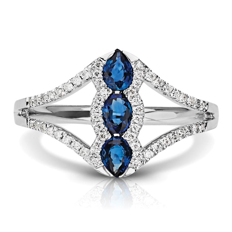 pear ring diamond product yellow band sapphire and davies blue gold edwards with