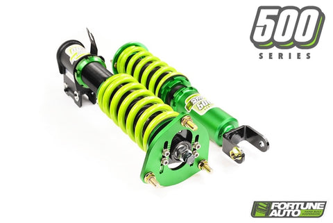 Fortune Auto 500 Series Coilovers | Offered by Cedar Performance