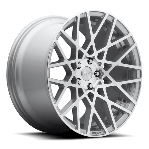 Rotiform BLQ - Silver Machined | Offered by CedarPerformance