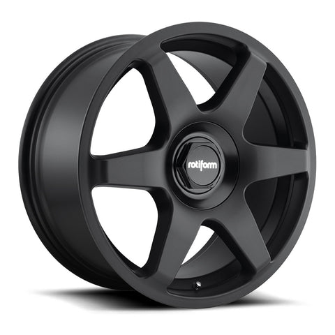Rotiform SIX - Matte Black | Offered by CedarPerformance