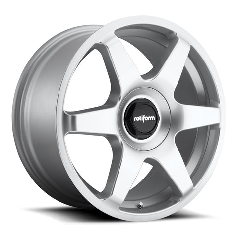 Rotiform SIX - Gloss Silver | Offered by CedarPerformance