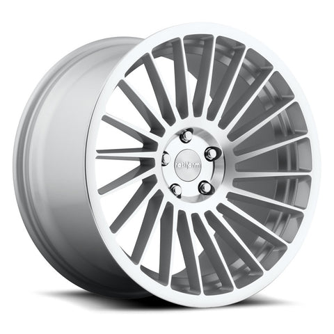 Rotiform IND-T - Silver Machined | Offered by CedarPerformance