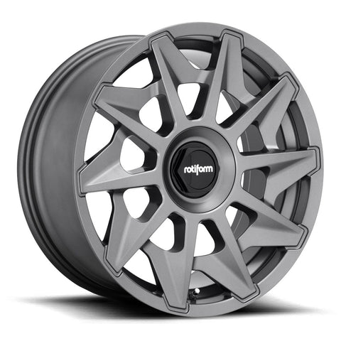 Rotiform CVT - Matte Anthracite | Offered by CedarPerformance