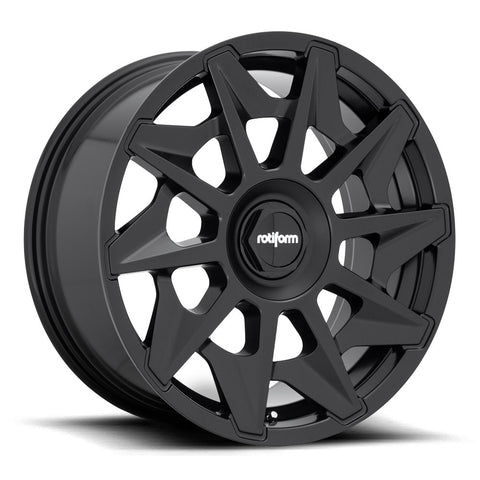 Rotiform CVT - Matte Black | Offered by CedarPerformance