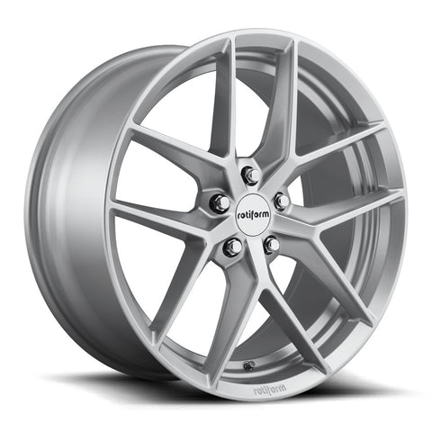 Rotiform FLG - Gloss Silver | Offered by CedarPerformance