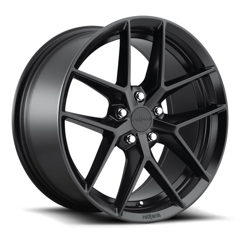 Rotiform FLG - Matte Black | Offered by CedarPerformance
