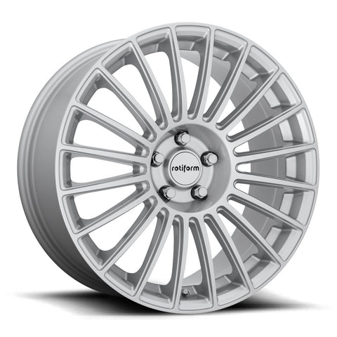 Rotiform BUC - Gloss Silver | Offered by CedarPerformance