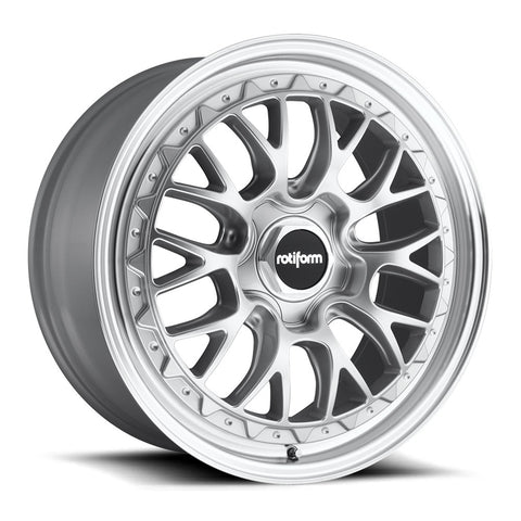 Rotiform LSR - Silver Machined | Offered by CedarPerformance