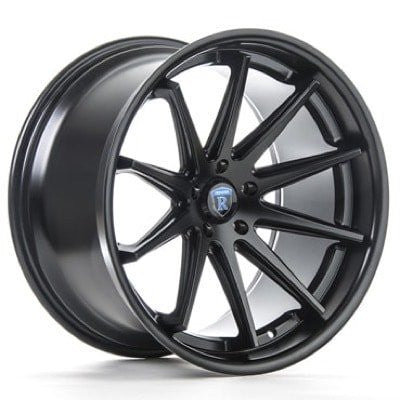 ROHANA RC10 - Matte Black | Offered by CedarPerformance