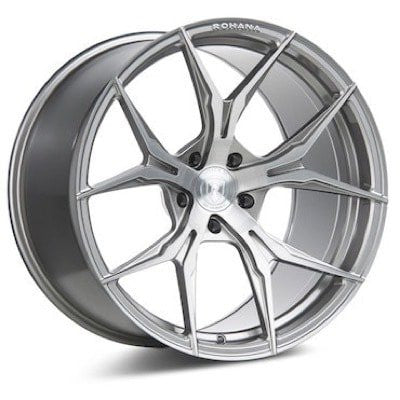 ROHANA RFX5 - Brushed Titanium | Offered by CedarPerformance