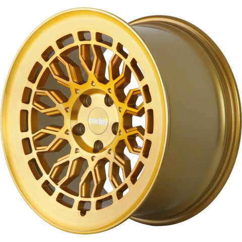 radi8 r8a10 Gold / Brushed Face | Offered by CedarPerformance