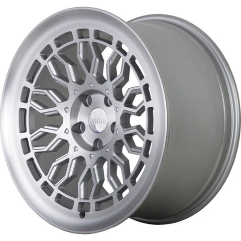 radi8 r8a10 Matte Silver / Machined Face | Offered by CedarPerformance