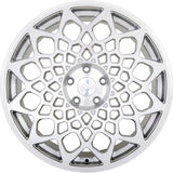 radi8 r8b12 Matte Silver / Machined Face | Offered by CedarPerformance