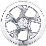 radi8 r8c5 Matte Silver / Machined Face | Offered by CedarPerformance