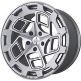 radi8 r8cm9 Matte Silver / Machined Face | Offered by CedarPerformance