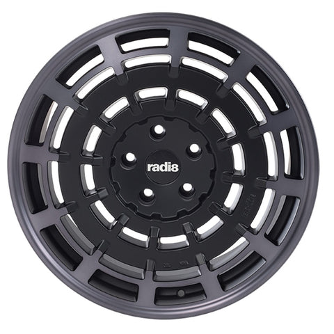 radi8 r8sd11 Matte Silver / Machined Face | Offered by CedarPerformance