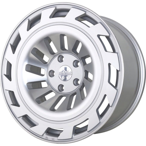 radi8 r8t12 Matte Silver / Machined Face | Offered by CedarPerformance