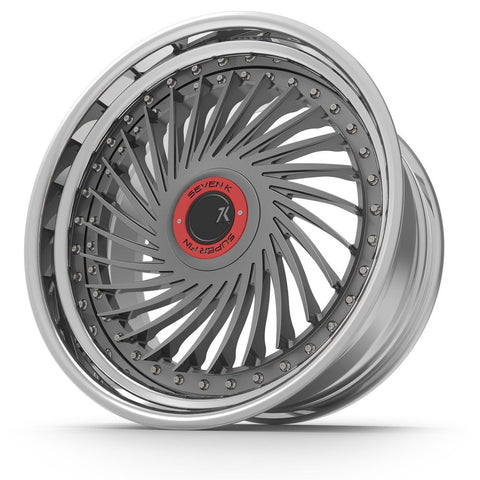 SevenK Super Series Super Fin - Custom Forged Wheels