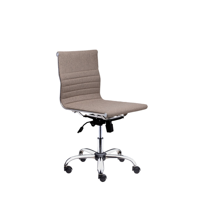 Winport Mid-Back Fabic Armless Office & Home Desk Chair SW-6912F