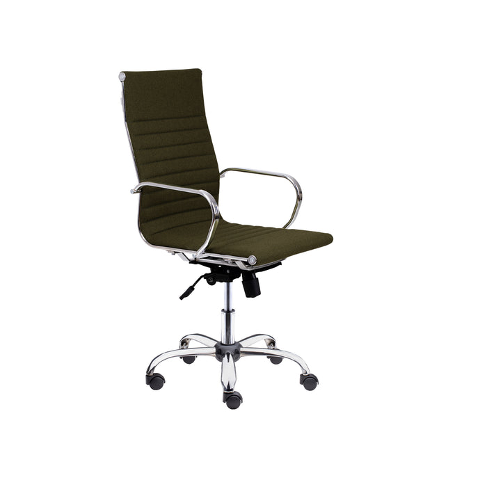Winport High-Back Fabric Executive Swivel Office &Home Desk Chair SW-7911F