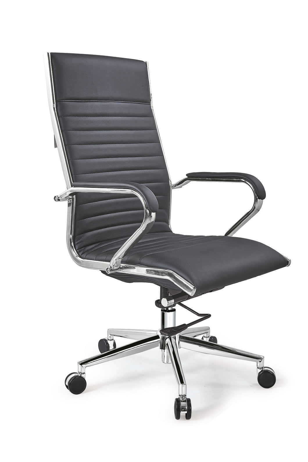Lily High-Back Executive Leather Office, Reception Desk Chair AB-145B