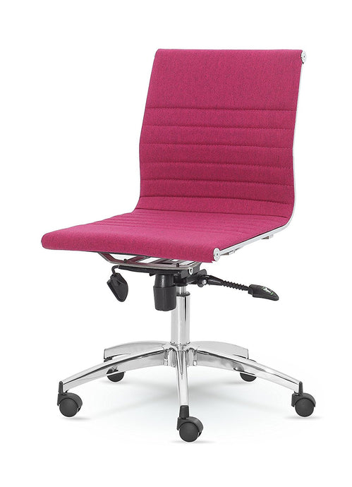 Winport Mid-Back Fabric Armless Swivel Conference Chair DY-8712KN