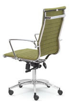 High-Back Executive Fabric Swivel Office & Home Desk, Task Chair 9711F