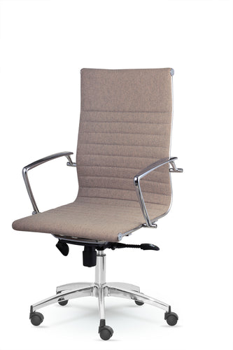 Winport High-Back Executive Fabric Swivel Office & Home Desk, Task Chair DY-9711KN