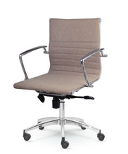 Winport Mid-Back Executive Fabric Swivel Office, Home Desk & Conference Chair 9712F