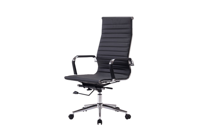 Winport High-Back Leather Swivel Office Chair NF-6002H