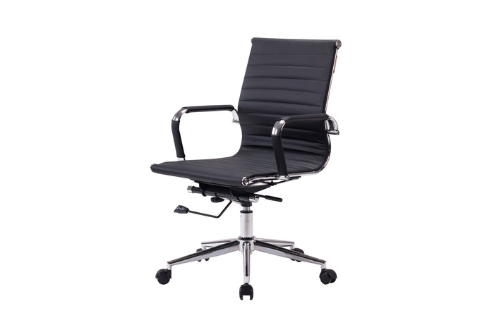 Winport Mid-Back Leather Swivel Office Chair NF-6002M