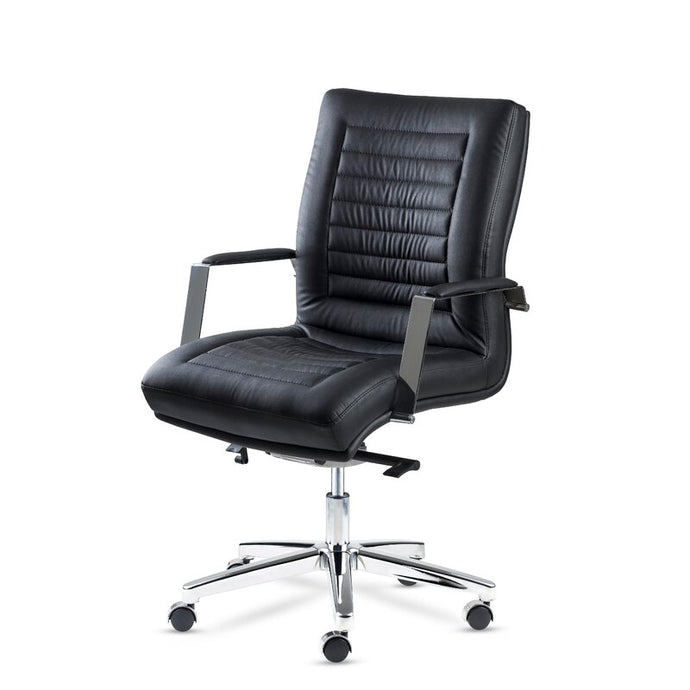 Winport Prestige Mid-Back Leather Executive Office Chair PR-5762M
